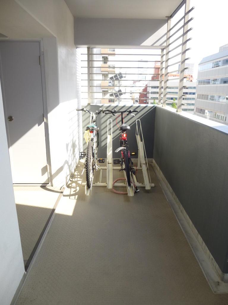各階の駐輪場