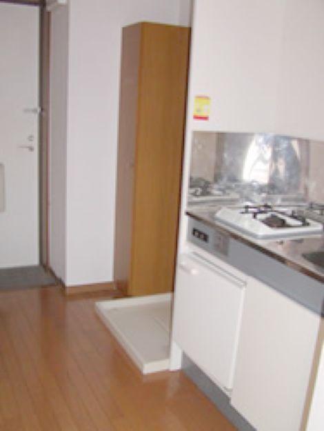 室内洗濯機置き場あり(キッチン)