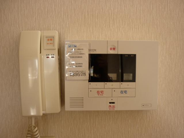 セコムホームセキュリティー標準装備